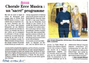Patriote Ecce Musica 21 mai 2015