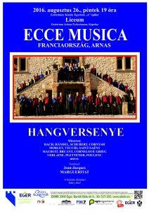 Affiche concert à EGER