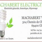MACHABERT Electricité